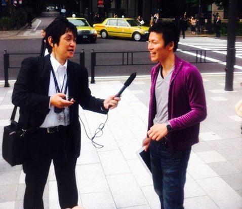 金環日食NHK放送インタビュー